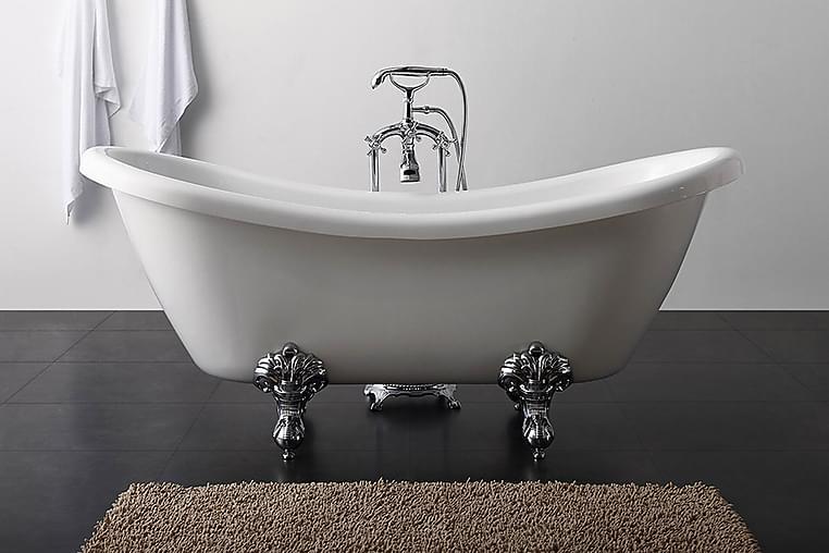 Ideal Like Tassbadkar Bathlife - 176 cm - Badrum - Badkar - Badkar med tassar