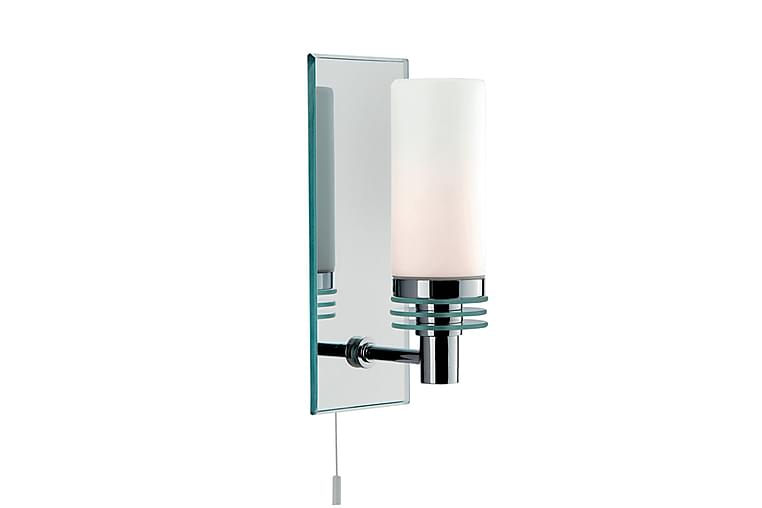 Lima Bathroom 1L (G9 LED) Backplate Glas/Spegel - Searchlight - Badrum - Badrumsmöbler - Belysning badrum