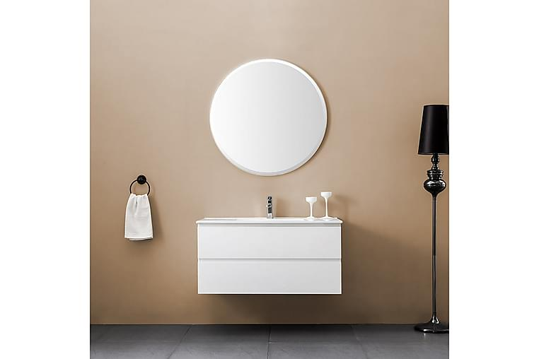 Eufori Möbelpaket 100 cm - inkl. spegel - Badrum - Badrumsmöbler - Kompletta möbelpaket