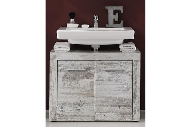Cornell Tvättställsskåp 72 cm - Vintage Vit - Badrum - Badrumsmöbler - Badrumsskåp