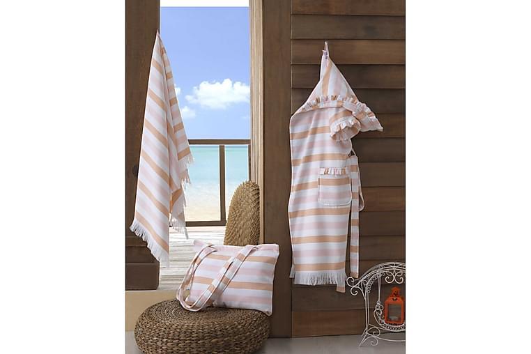 Ashburton Handduksset - Rosa/Vit - Heminredning - Textilier - Textilier badrum