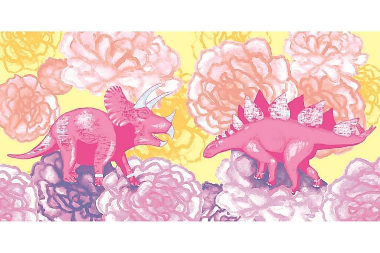 Dino Badlakan 70x140 cm Gul - Vallila - Heminredning - Textilier - Textilier badrum