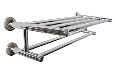Handdukshängare 6 rör rostfritt stål