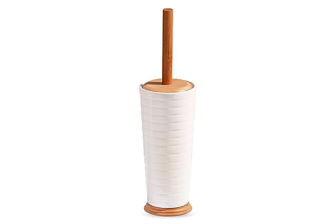 Kosova Toalettborste Bambu/Porslin - Vit - Badrum - Badrumstillbehör - Toalettborste