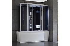 Lamya Kombinerad duschkabin och badkar med jacuzzi