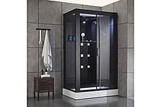 Stor exklusiv duschkabin med massage