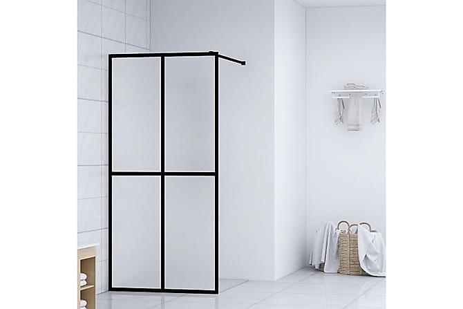 Duschvägg till duschkabin härdat glas 118x190 cm - Vit - Badrum - Duschar - Duschväggar