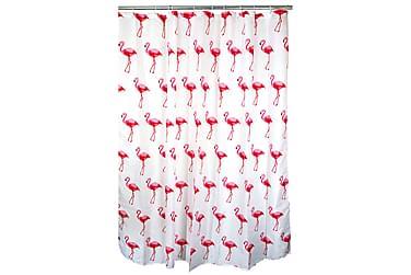 Ferno Duschdraperi Flamingo 180 cm