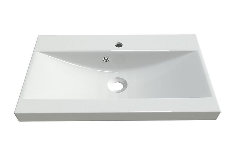 Syfon Handfat 60x35x5 cm - Vit - Badrum - Tvättställ & handfat - Enkelhandfat