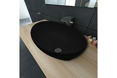 Handfat Vänern 40x33cm svart