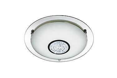 Bathroom Flush LED Spegel/Krom