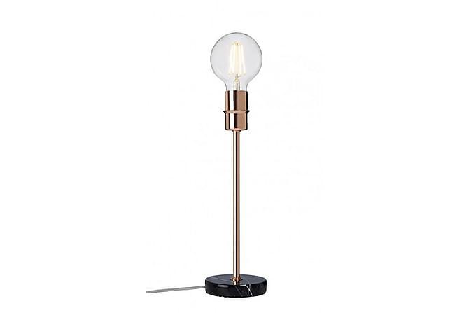 Cottex Converto Bordslampa 14 cm Rund - Svart Marmor/Koppar - Belysning - Inomhusbelysning & Lampor - Bordslampa