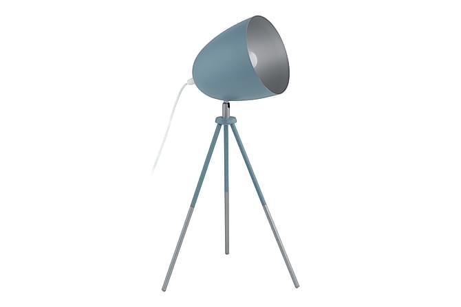 Eglo Chester Bordslampa - Mörkblå/Silver - Belysning - Inomhusbelysning & Lampor - Bordslampa