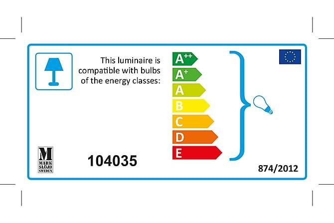 Koge Bordslampa Stål/Offwhite - Markslöjd - Belysning - Inomhusbelysning & Lampor - Bordslampa
