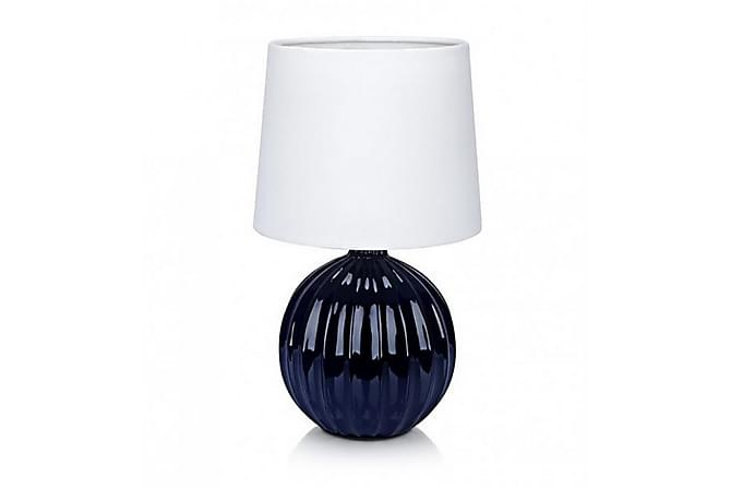 Melanie Bordslampa 1L - Blå/Vit - Belysning - Inomhusbelysning & Lampor - Bordslampa