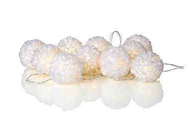Skön Ljusslinga Bollar LED 10L Vit