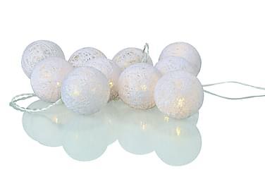Twix Ljusslinga Bollar LED 10L Vit