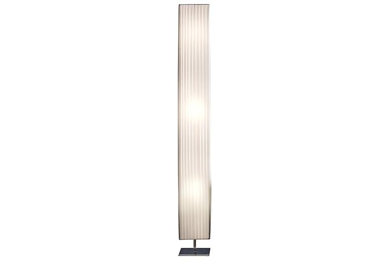 Golvlampa 160 cm square white, chrome, latex - Vit - Belysning - Inomhusbelysning & Lampor - Golvlampa