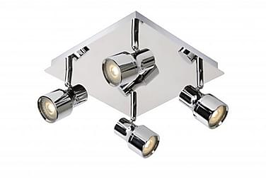 Lucide Sirene Spotlight 25 cm LED Dimbar 4 Lampor