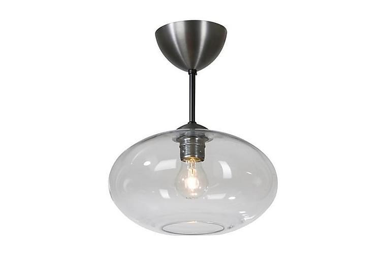 Bullo plafond oxidgrå/ klar glas E27 60W IP21 - Belysning - Inomhusbelysning & Lampor - Taklampa
