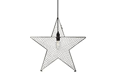 Bynäs Julstjärna 50 cm Grå