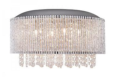 Cottex Avenue Taklampa 81 cm Hängande Kristall 6 Lampor