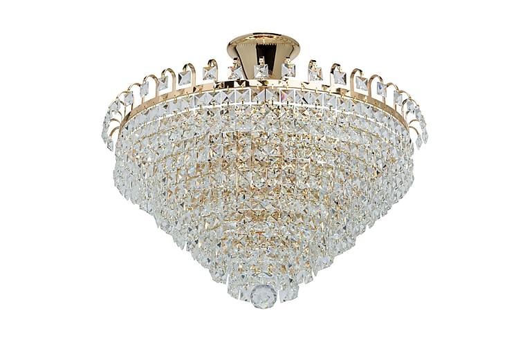 Crystalic Taklampa - Guld - Belysning - Inomhusbelysning & Lampor - Taklampa
