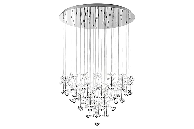 Eglo Pianopoli Taklampa LED 78 cm - Krom/Kristall - Belysning - Inomhusbelysning & Lampor - Taklampa