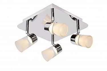 Lucide Xanto Badrumsbelysning 24 cm LED 4 Lampor