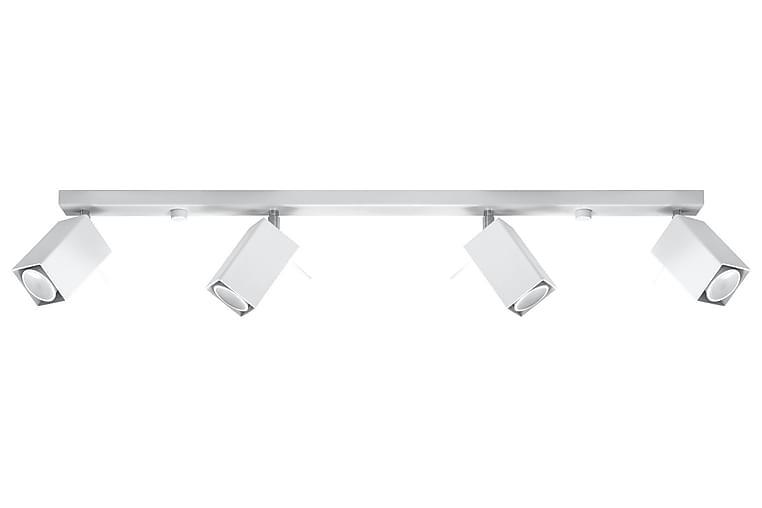 Merida Pendellampa 4 Lampor Vit - Sollux Lighting - Belysning - Inomhusbelysning & Lampor - Taklampa