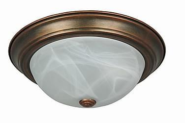 Oriva Taklampa 34 cm Rund Dimbar 2 Lampor