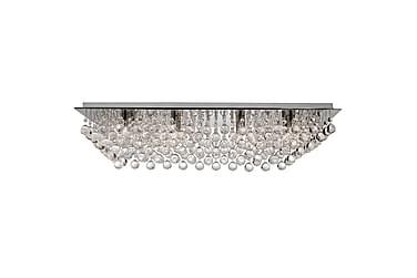 Searchlight Hanna Plafond 80 cm Rektangel Dimbar 8 Lampor