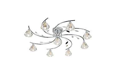 Searchlight Sierra Plafond 75 cm Dimbar 9 Lampor