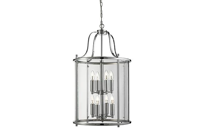 Victorian Lantern 8L Krom/Glas - Searchlight - Belysning - Inomhusbelysning & Lampor - Taklampa