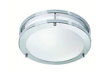 Täby Plafond LED Krom/Vit