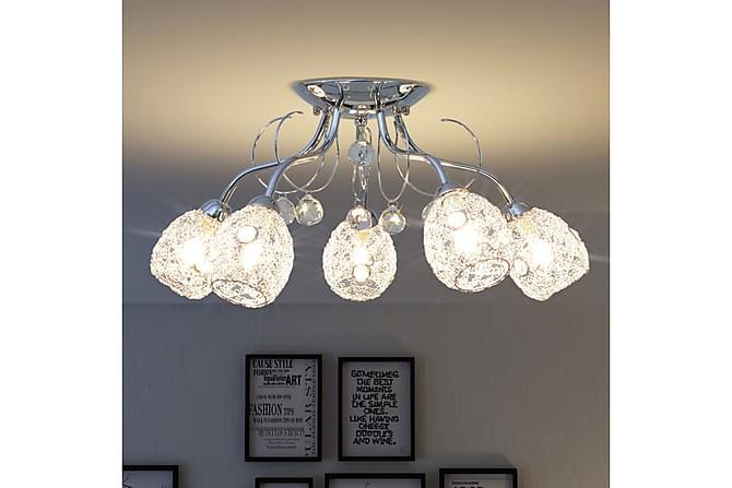 Taklampa för 5 G9-glödlampor 200 W - Vit - Belysning - Inomhusbelysning & Lampor - Taklampa