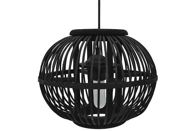 Taklampa svart pil 40 W 30x22 cm glob E27 - Svart - Belysning - Inomhusbelysning & Lampor - Taklampa