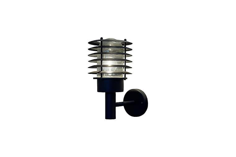 Nybo Vägglampa Svart - Aneta Lightning - Belysning - Inomhusbelysning & Lampor - Vägglampa