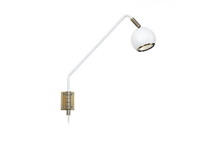 Coco Sänglampa Vägg 1L - Vit/Antik - Belysning - Inomhusbelysning & Lampor - Vägglampa