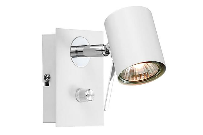 Hyssna Väggspot Vit - Markslöjd - Belysning - Inomhusbelysning & Lampor - Vägglampa