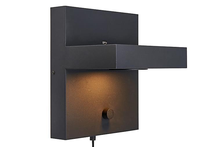 Kubik Vägglampa Svart - Markslöjd - Belysning - Inomhusbelysning & Lampor - Vägglampa