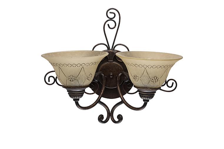 Lacountry Vägglampa - Brun - Belysning - Inomhusbelysning & Lampor - Vägglampa