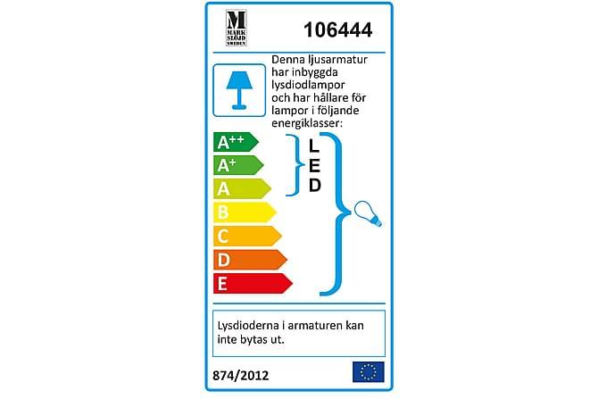 Mason Vägglampa 2L Stål/Vit - Markslöjd - Belysning - Inomhusbelysning & Lampor - Vägglampa