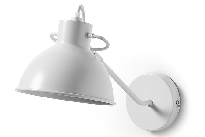 Odalis Vägglampa 14/16,5 cm - Vit - Belysning - Inomhusbelysning & Lampor - Vägglampa