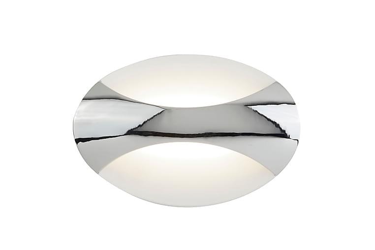 Vägglampa LED Oval Krom/Vit - Searchlight - Belysning - Inomhusbelysning & Lampor - Vägglampa