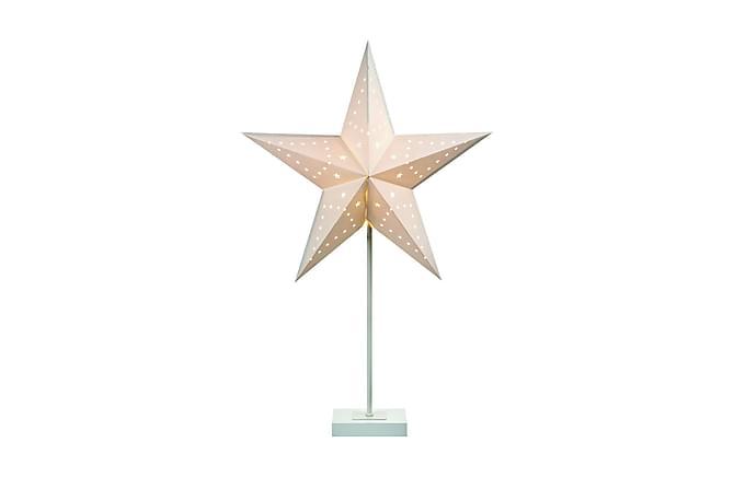Nord Bordstjärna Vit - Markslöjd - Belysning - Julbelysning - Adventsstjärna