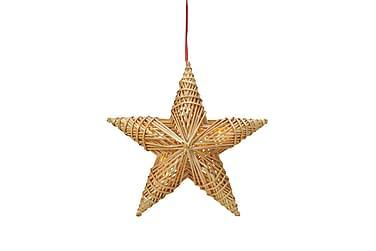 Tora Dekoration Stjärna LED Halm