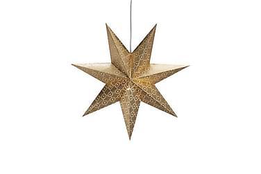 Tostared Julstjärna 45 cm Guld