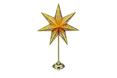 Vallby Bordstjärna 66 cm Guld