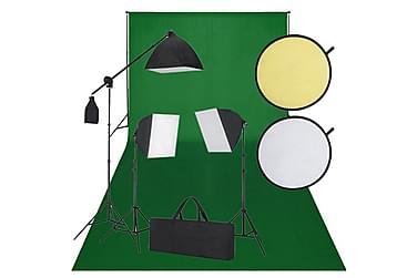 Studiokit svart och grön